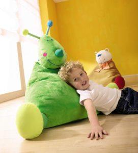 Baby Sitzsack mit einem Jungen